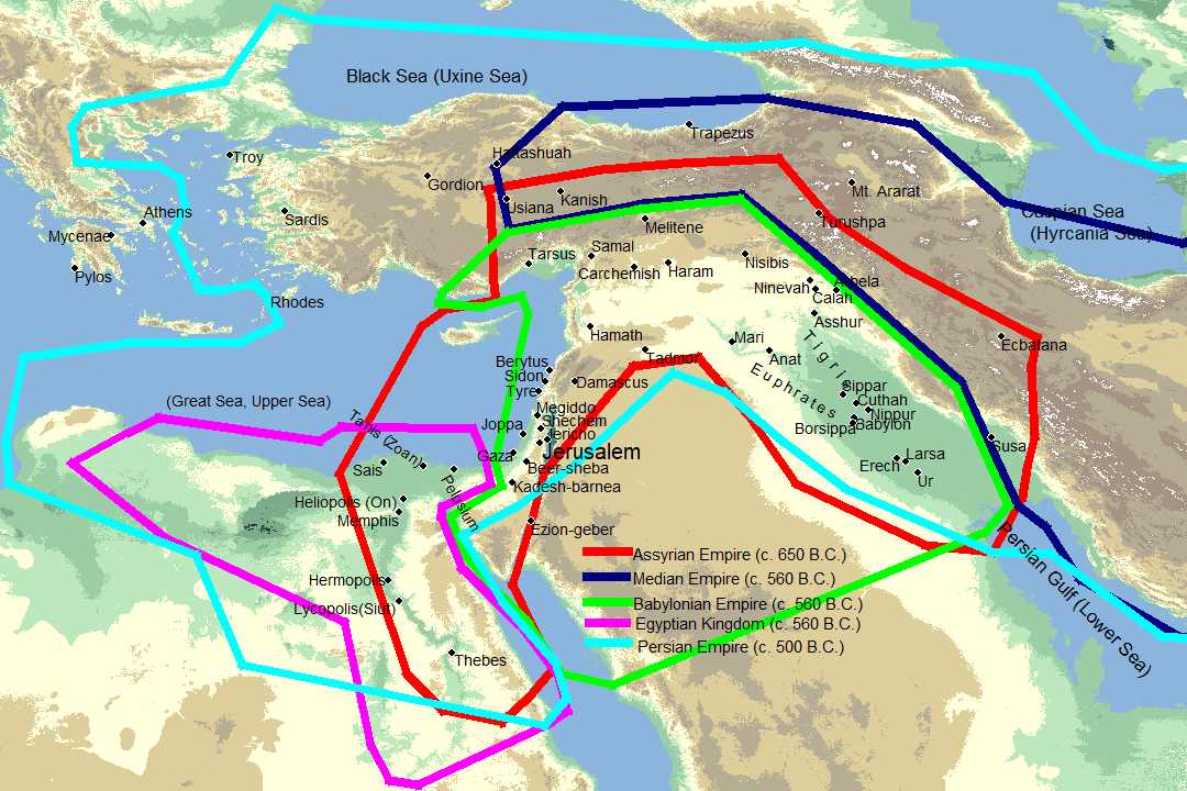 BibleWorks maps module
